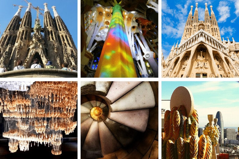 Highlights of our skip the line la Sagrada Familia guided tour with tower access