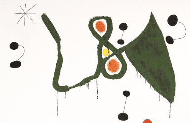Joan Miro Signs: Birds