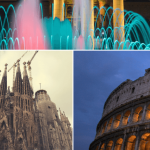 Barcelona sites vs Rome attractions