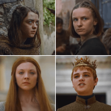 Characters that participated in Game of Thrones in Girona, Spain