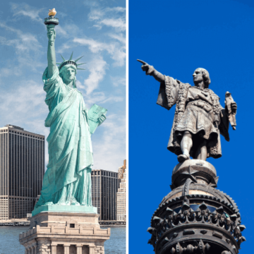 NYC and Barcelona sites photo grid