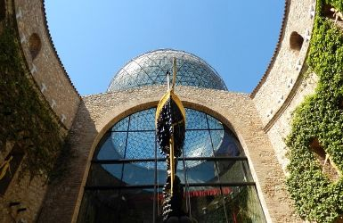Dali Museum in Figueres, one of the most instagrammable places around Barcelona