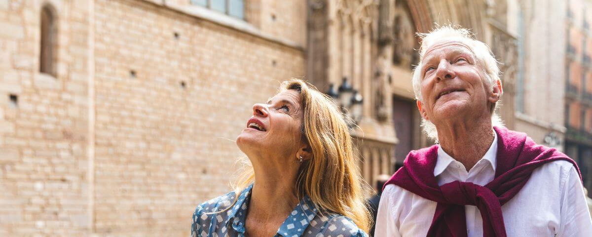 Seniors on a Barcelona tour