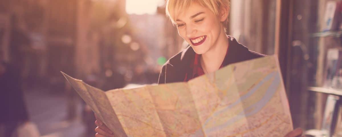 Female solo traveler in Barcelona
