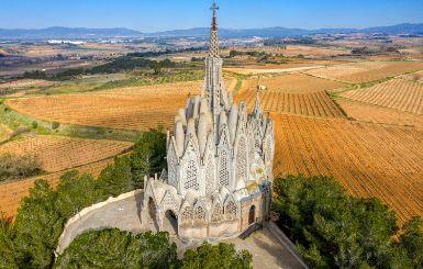 Sanctuary of Montserrat in Montferri (Tarragona, Spain) by Jujol