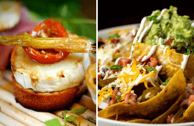Food from Spain vs Mexico
