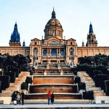 Instagrammable places in Catalonia, Spain: MNAC Museum
