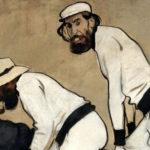 Tandem, featuring Santiago Rusiñol and Ramon Casas, leaders of Barcelona Modernisme trend