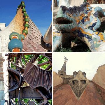 Gaudi Dragons grid
