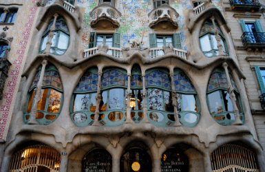 Casa Batllo in Eixample, Barcelona, where to stay for families in multi generational trips