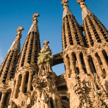 Nativity façade, the Sagrada Familia best towers