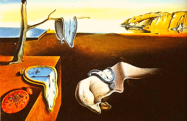 Persistence of memory by Salvador Dali - the famous melting clocks and their meaning