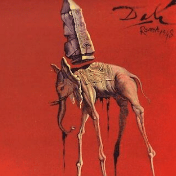 Elephant, an important symbol in Salvador Dali paintings meanings