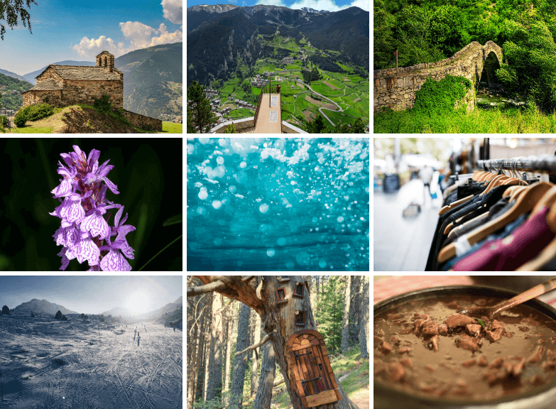 Highlights of our Tours from Barcelona to Andorra