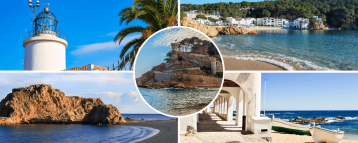 Images of our Costa Brava day trip from Barcelona