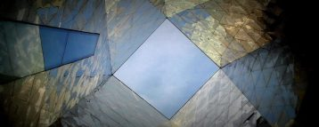 Skylight of the Blue Building - contemporary architecture