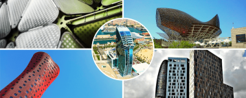 Sites included in our Comtemporary architecture tour of Barcelona