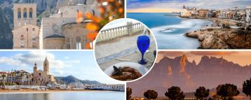 Sitges Montserrat Tour from Barcelona Spain