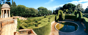 Barcelona park visited in our garden tours