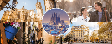Images of our private Barcelona walking tour