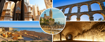 Moments of our Tarragona and Sitges day tour from barcelona