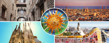 Sites in our Barcelona 3-days tour